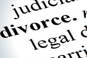 divorce definition on paper