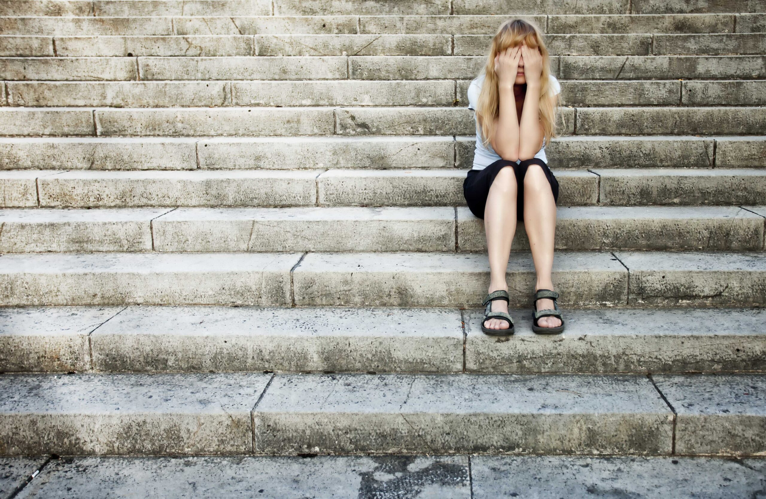 A depressed girl, family law
