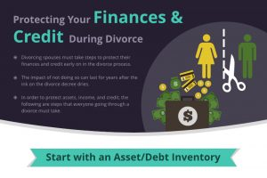 Protecting Your Finances & Credit During Divorce