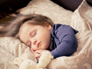 A sleeping child, Child Support