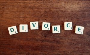 divorce word on each block, divorce lawyers